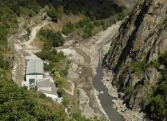 Obras no río Sil