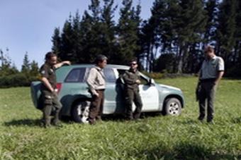 Operativo de busca. Foto: María Valcárcel