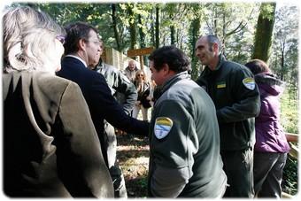 A Xunta desenvolve tarefas de silvicultura e prevención de incendios en 60.000 hectáreas de media ao ano