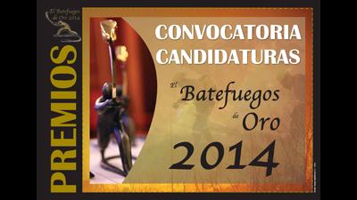 PREMIOS BATEFUEGOS DE ORO 2014