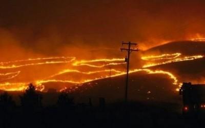 A Policía Autonómica en colaboración cos Axentes Ambientais detén 'in fraganti' ao presunto autor de varios incendios forestais nos concellos de Boiro e Lousame (A Coruña)