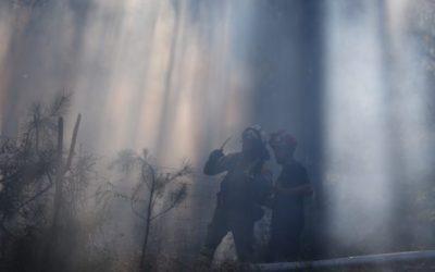 Axentes ambientais da Xunta sorprenden in fraganti a un home cando prendía lume en Cangas