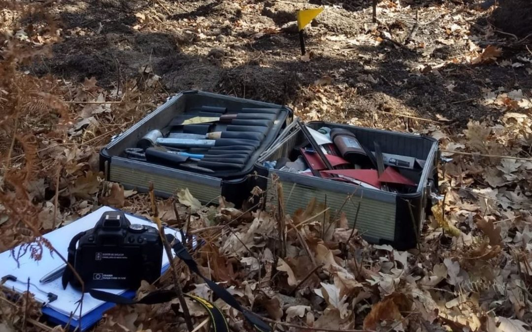 Los investigadores buscan el modo de ignición de los fuegos de Cotobade