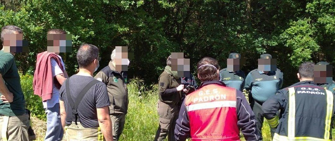 Un axente forestal atopa nun monte de Rois (A Coruña) a un home de 80 anos  desparecido desde o sábado