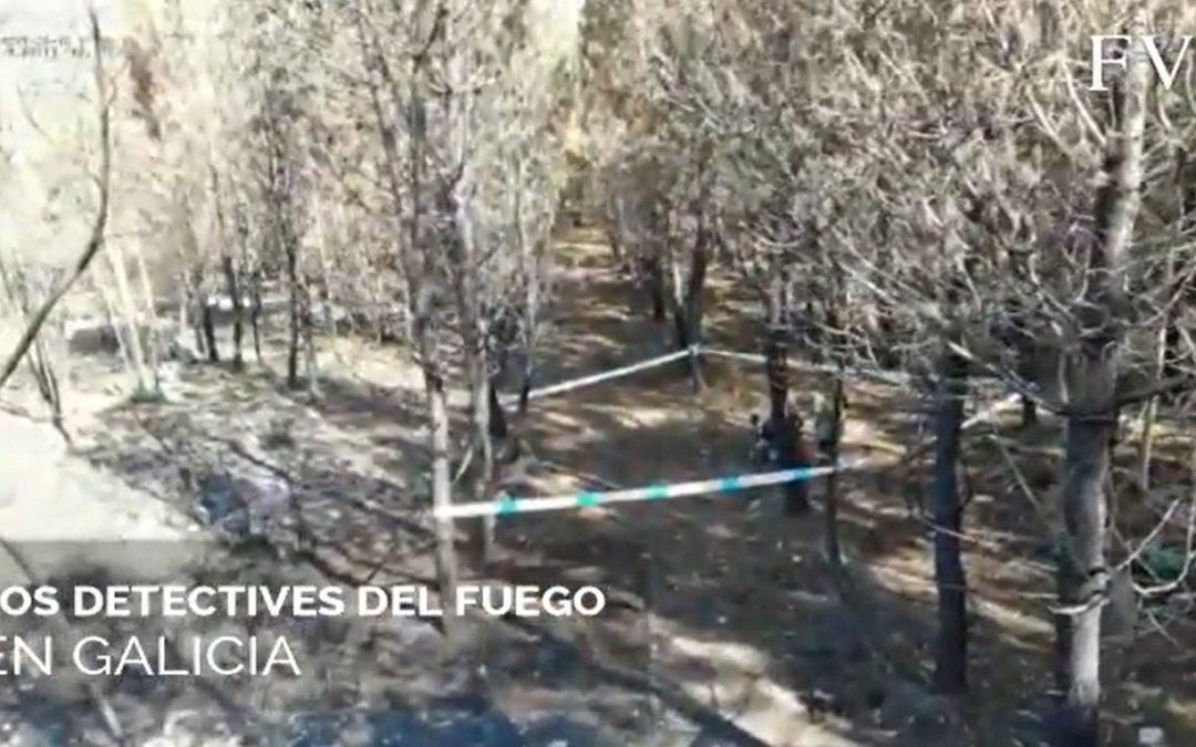 Así investigan os detectives do lume en Galicia
